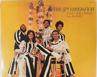 "The 5th Dimension - ""Love's Lines, Angles and Rhymes vinyl"