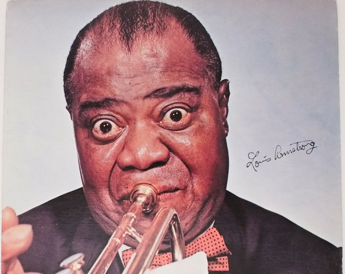 """Featured listing image: Louis Armstrong - """"Louis Armstrong (self titled)"""" vinyl"""
