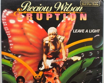 "Precious Wilson & Eruption - ""Leave a Light"" vinyl"