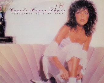 "Carole Bayer Sager - ""Sometimes Late at Night"" vinyl"