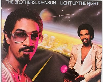 "The Brothers Johnson - ""Light Up the Night"" vinyl"