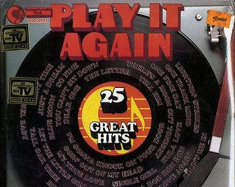 "Commonwealth Presents- ""Play It Again 25 Great Hits"" vinyl"