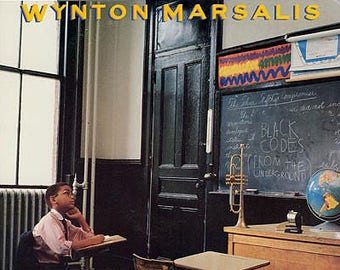 "Wynton Marsalis - ""Black Codes (From The Underground)"" vinyl"