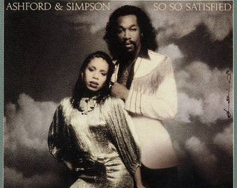 "Ashford & Simpson - ""So So Satisfied"" vinyl"