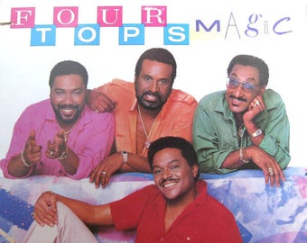 "Four Tops - ""Magic"" vinyl"