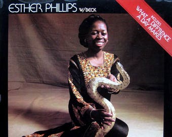 "Esther Phillips w/ Beck - ""What A Diff'rence A Day Makes"" vinyl"