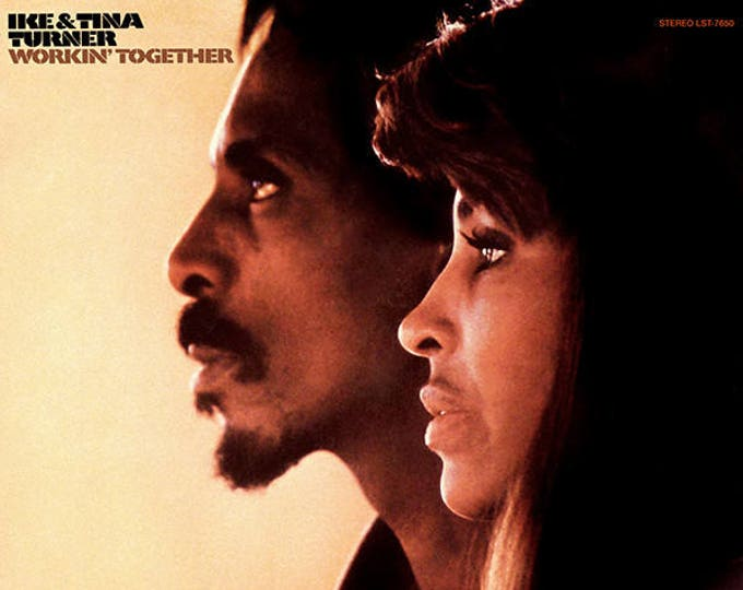 "Featured listing image: Ike & Tina Turner - ""Workin' Together"" vinyl"