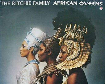 "The Ritchie Family - ""African Queens"" vinyl"