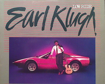 "Earl Klugh - ""Low Ride"" vinyl"