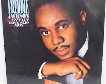 "Freddie Jackson - ""Don't Let Love Slip Away"" vinyl"