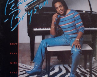 "Peabo Bryson - ""Don't Play With Fire"" (Still Sealed) vinyl"