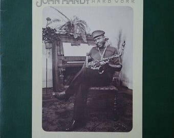 "John Handy - ""Hard Work"" vinyl"