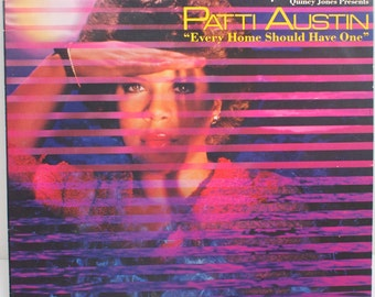 "Patti Austin - ""Every Home Should Have One"" vinyl"