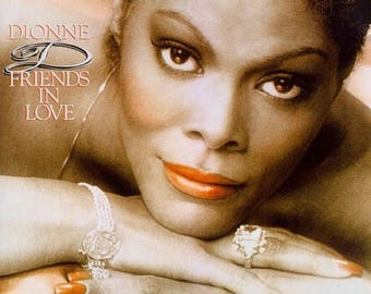 "Dionne Warwick - ""Friends in Love"" vinyl"