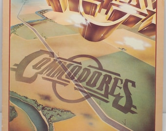 "Commodores - ""Natural High"" vinyl"