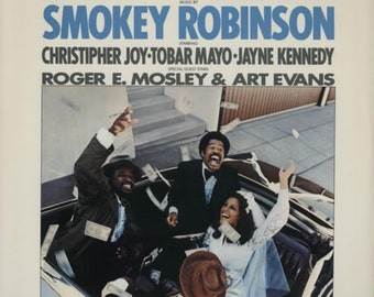 "Smokey Robinson - ""Big Time - Original Music Soundtrack"" vinyl"