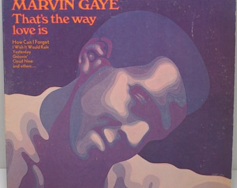 "Marvin Gaye - ""That's The Way Love Is"" vinyl"