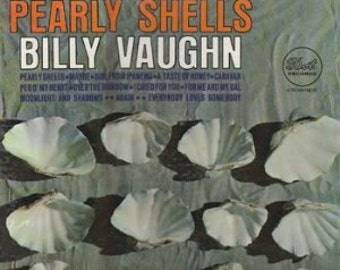 "Billy Vaughn - ""Pearly Shells"" vinyl"