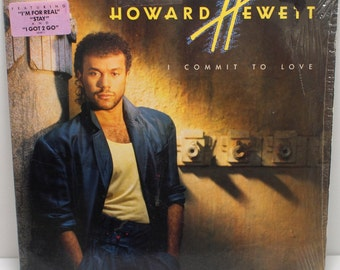 "Howard Hewitt - ""I Commit To Love"" vinyl"