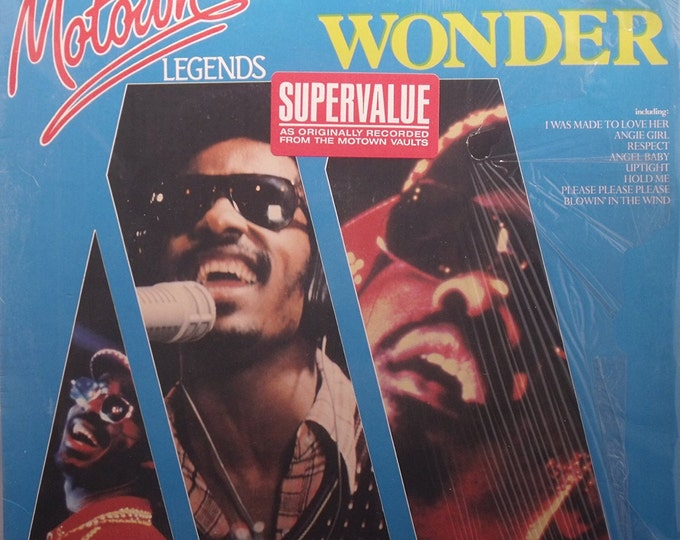 "Featured listing image: Stevie Wonder - ""Motown Legends"" vinyl"