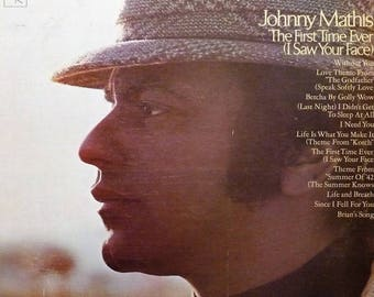 "Johnny Mathis - ""The First Time Ever (I Saw Your Face)"" vinyl"