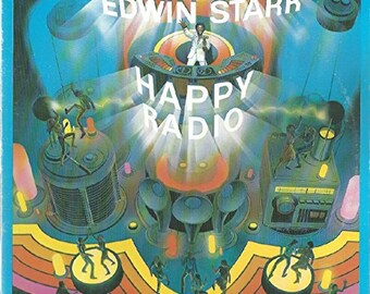"Edwin Starr - ""Happy Radio"" vinyl"