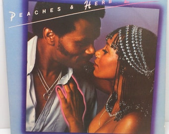 "Peaches & Herb - ""2 Hot"" vinyl"
