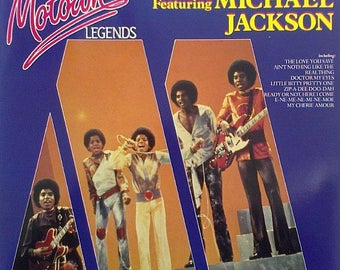 "The Jackson 5 featuring Michael Jackson - ""Motown Legends"" vinyl"