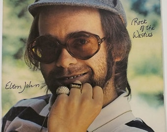 "Elton John - ""Rock of the Westies"" vinyl"