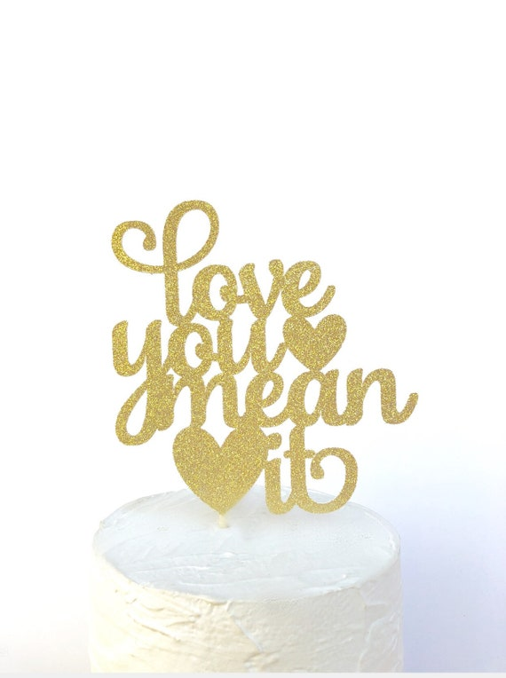 Personalised Bridal Shower Cake Toppers Miss to Mrs Glitter Rose Gold #35
