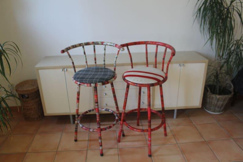 Collage order on individual bar stools image 0