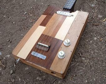 "Cigar Box Guitar ""Pure wood"""