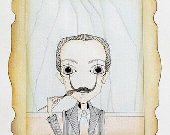 Ilustración de Salvador Dalí