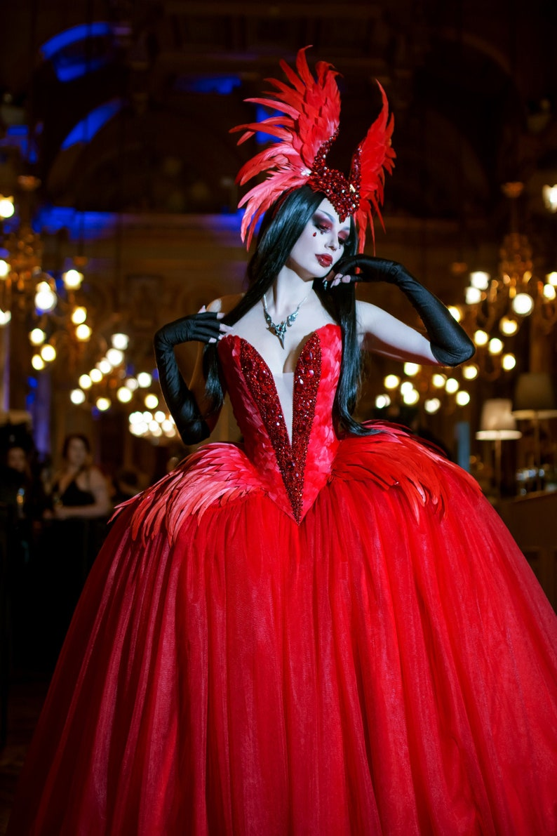 Phoenix Dramatic Fairytale Ball Gown Vampire Gothic Dress | Stay at Home Mum