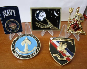 Navy Special Warfare Unit Two Little Creek NSWG 2  Navy Seal Challenge Coin