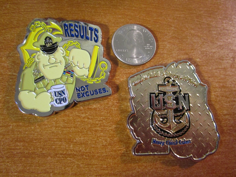 United States CPO Results Not Excuses Challenge Coin