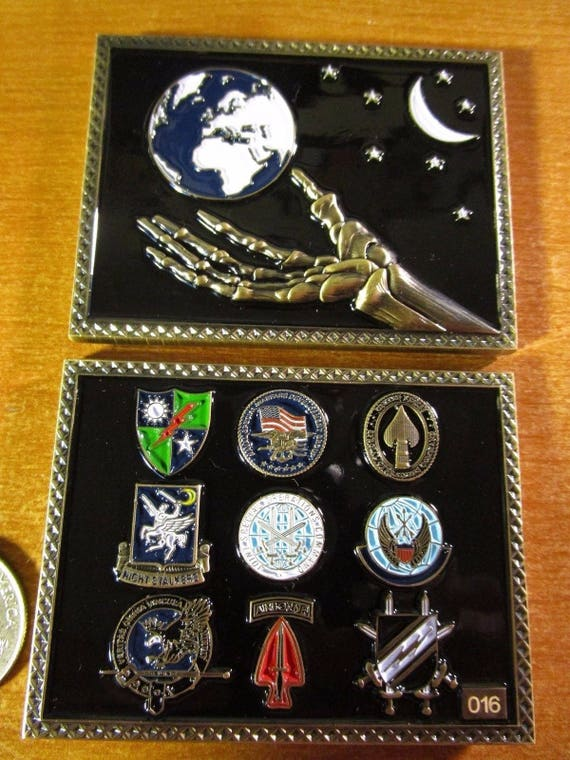 Joint Special Operations Command JSOC Special Operations Command AFSOC  DEVGRU Reapers Challenge Coin