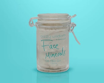 Organic Face Minerals / Himalayan Shilajit  / Facial moisturizer / Night repair cream / Highly Effective / On-the-go size