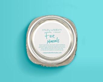 Organic Face Minerals / Himalayan Shilajit  / Facial moisturizer / Night repair cream / Highly Effective / Value size