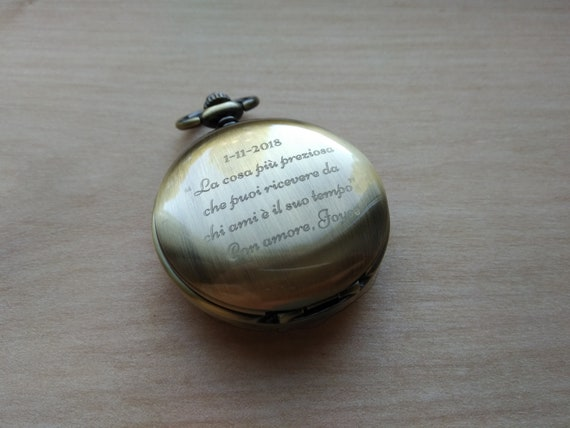 Hochzeit Trauzeugen Geschenk Beste Mann Geschenk Personalisierte Geschenk Für Freund Steampunk Schwarz Tasche Uhr Mechanische Uhr Graviert Uhr Skelett