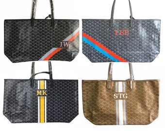 Personalized Monogrammed Goyard Tote...Customer provides the bag! 7d17f3b8a19