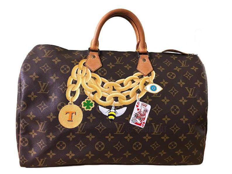 b35a8fd59a03 Custom hand painted on Louis Vuitton Speedy...Customer provide