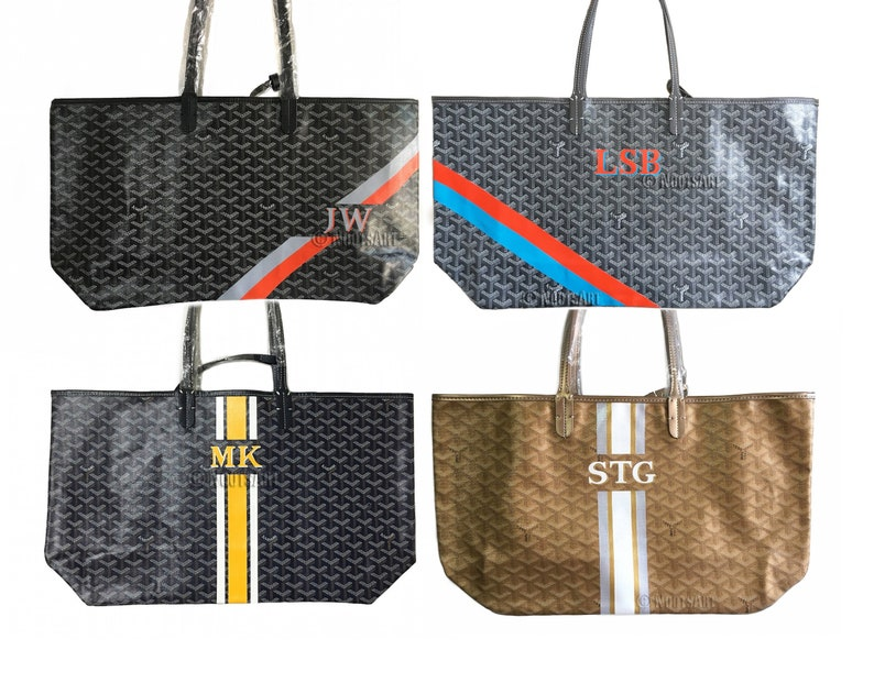 Personalized Monogrammed Goyard Tote...Customer provides the  cefa6aa160849