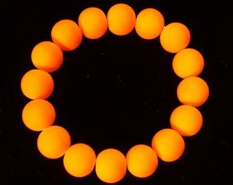Neon Green, Orange, or Yellow Stretch Bracelet