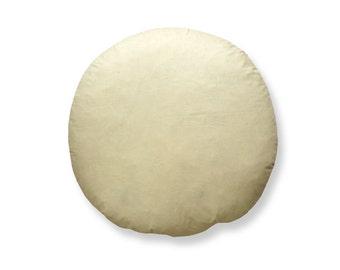 "16"" Round Luxury Feather Cushion Pad"
