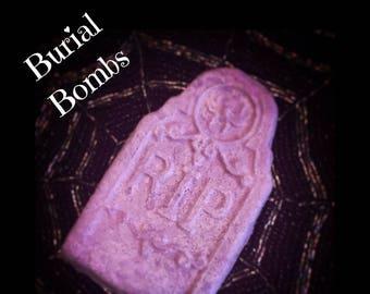 Posh Goth Burial Bombs All Natural Gothic Bath Bombs