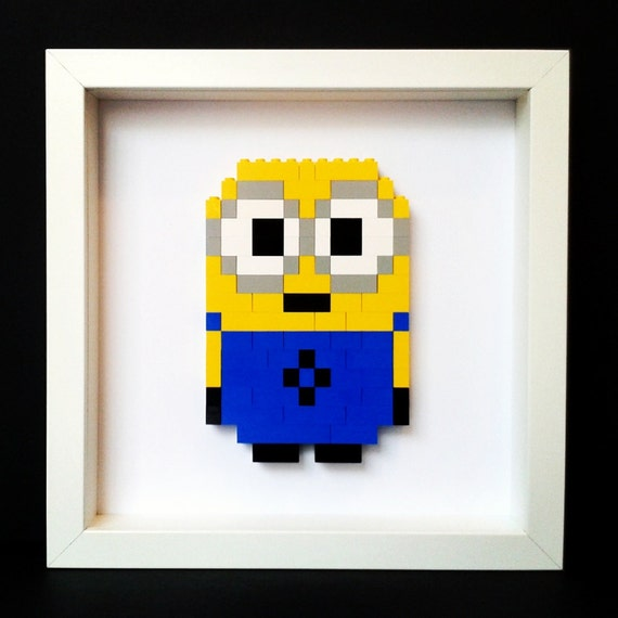 Minion Bob Lego Art By Blm