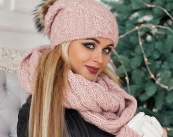 bc71ae07d31 Hat scarf gloves set