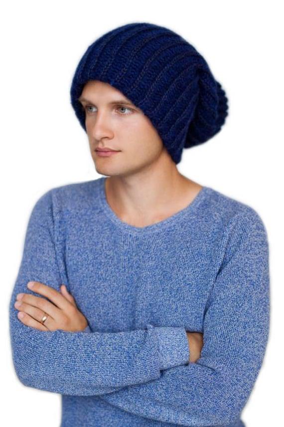 Dreadlock beanie-Oversized slouchy beanie-Chunky knitted  d9fa78e2923