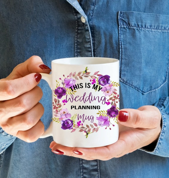 Bride to be mug,Wedding Planning mug, Engagement gift, Miss to Mrs, Personalised gift, Coffee mug, Weddings, Gifts for her, Bride gift